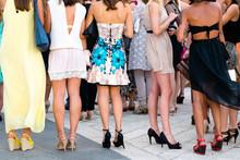 Five Girls With Nice Legs