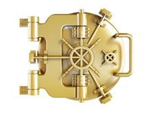 Gold Vaulted Door