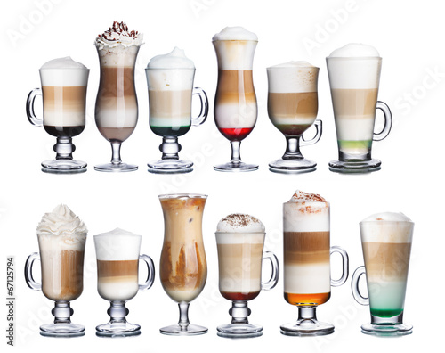 Irish coffe collection