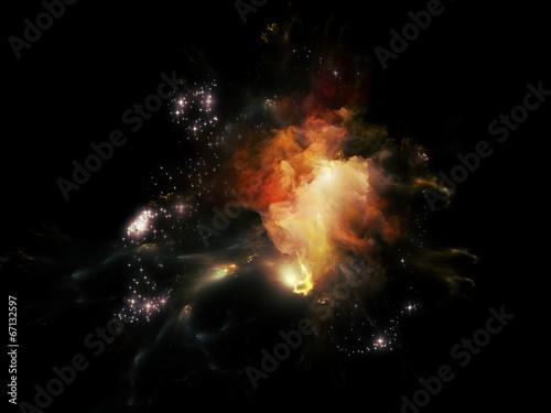 Fototapeta Nebula Dreams obraz na płótnie