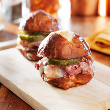 Corned Beef And Cheese Slider ...