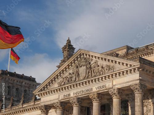 Reichstag Berlin Poster