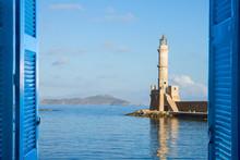Habour Of Chania, Crete, Greece