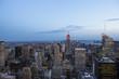 Skyline of Manhattan, New-york, USA