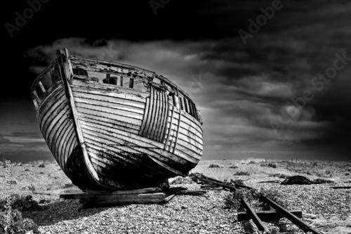 Foto auf AluDibond Schiff Old fishing boat.