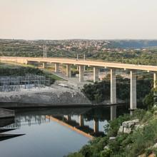 Power Station And Bridge