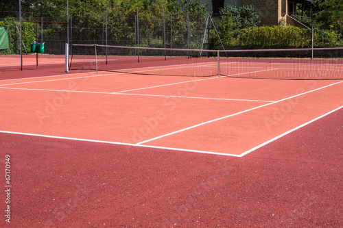Terrain de tennis - Buy this stock photo and explore similar images ...