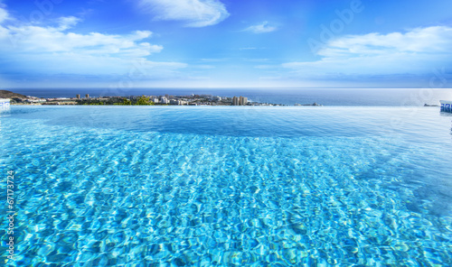 Beautiful view from swimming pool
