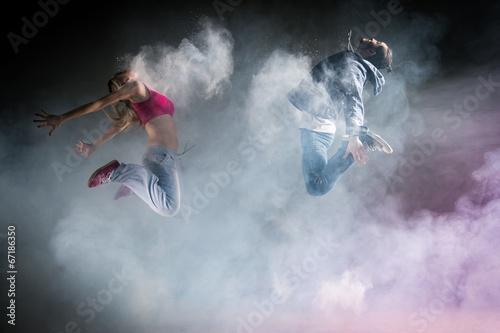 obraz dibond Danse moderne