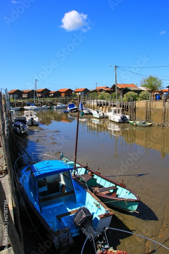 City on the water Port ostréicole de Gujan-Mestras