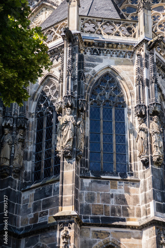 Photo Stands New York Aachener Dom Detail