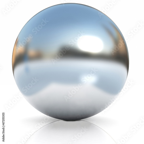 Fotografía Chrome Ball