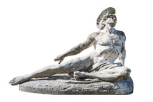 Sculpture Of Dying Achilles In...