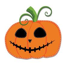 Jack O Lantern Or Carved Pumpk...