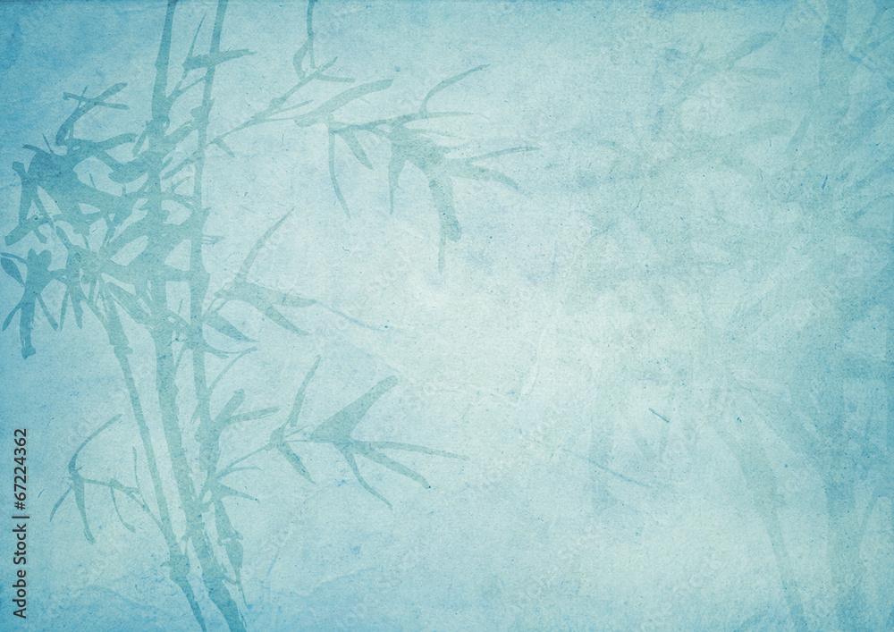 Oriental bamboo pattern background