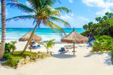 Beach At Tulum - Mexico Yucatan