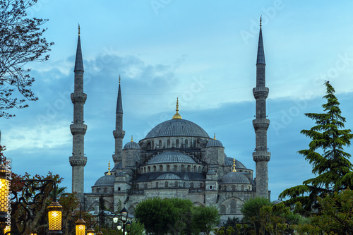 Foto op Canvas Turkije Blue Mosque, Istanbul, Turkey
