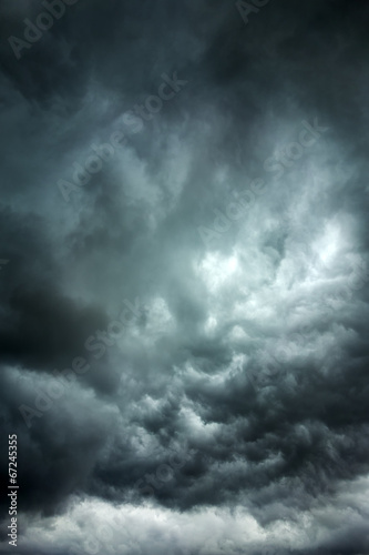 Stormy clouds Wall mural