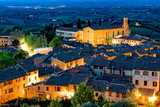 Night view From Tower of San Gimignano - 67248504