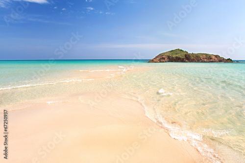 Photo  einsamer Strand auf Sardinien