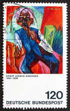 Postage Stamp Germany 1974 Old...
