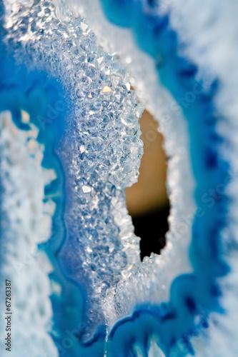 Wall Murals Crystals Blue stone lapis lazuli macro