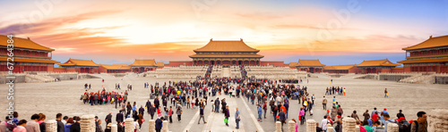 Papiers peints Pekin Forbidden City in Beijing