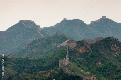Chinesische Mauer Fototapeta