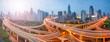 canvas print picture - Shanghai Verkehr