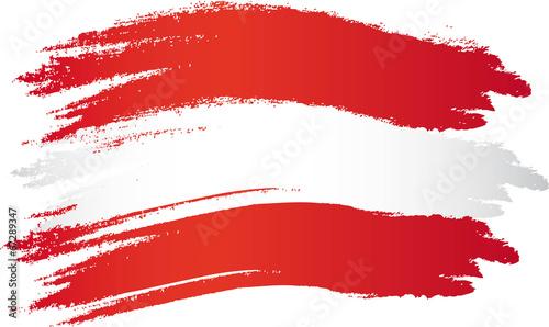 Pinturas sobre lienzo  Österreich Flagge