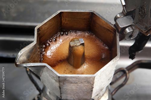 Fotografie, Obraz  Italian coffeepot