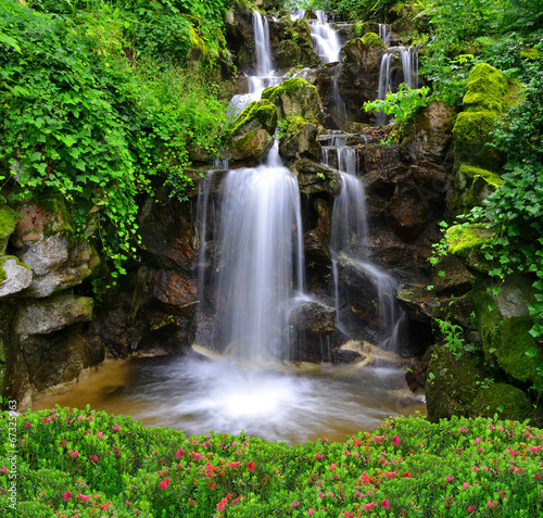 Keuken foto achterwand Watervallen Beautiful waterfall