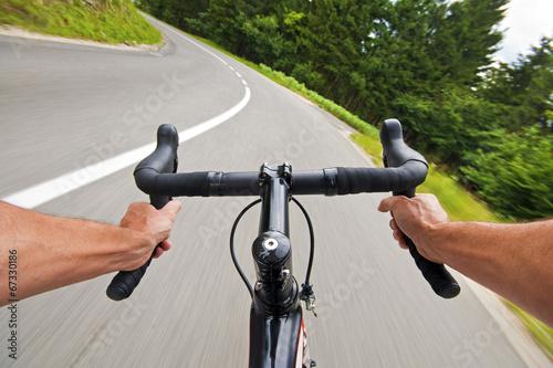 Fotobehang Fietsen cycling
