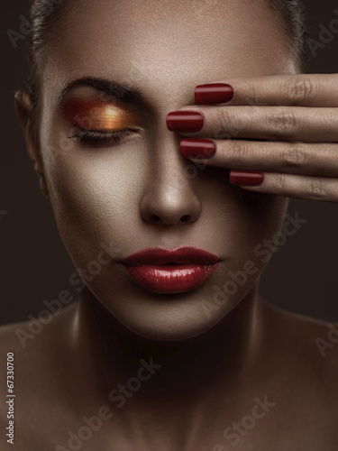 Photo  Makeup and Manicure