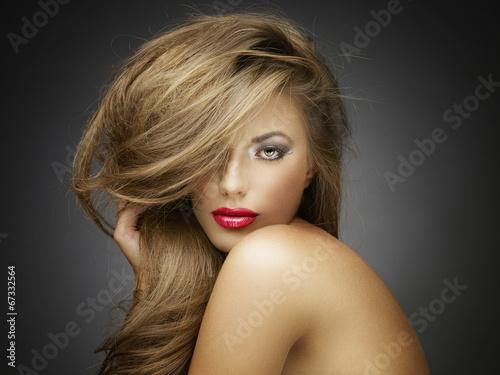 Beautiful woman. Perfect Hair