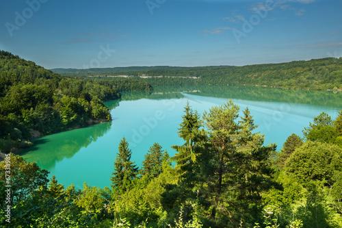 Bleu jean Lac de Vouglans JURA