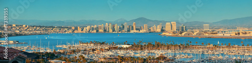 San Diego downtown Canvas Print