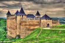 Khotyn Fortress, Ukraine. HDR Image