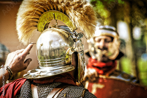 Fotografie, Obraz  Römische Legionäre
