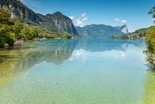 Mondsee Lake In Austria