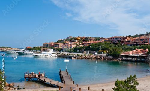 Photo  The marina of Porto Cervo