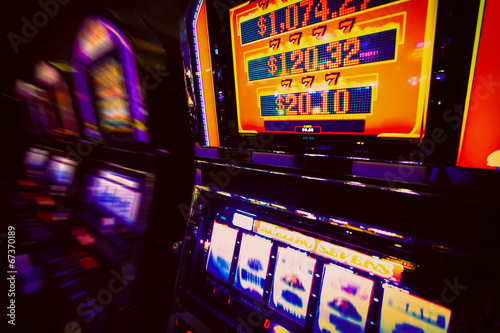 Obraz Spielautomat im Casino - fototapety do salonu