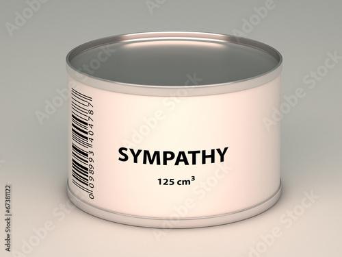 Fotografia  bank with sympathy title
