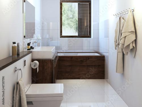 Valokuva  Bathroom in modern style