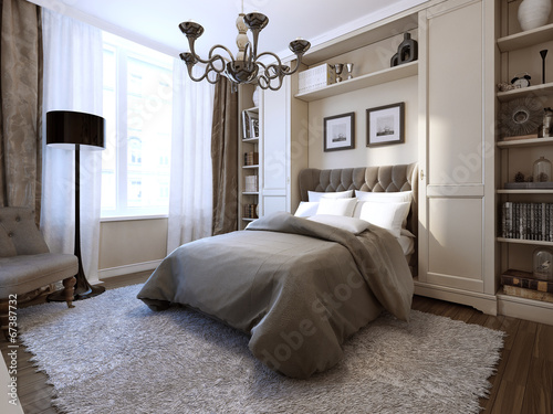 Photo  Bedroom in modern style