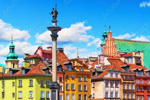 Fototapeta Stare Miasto w Warszawie na zamówienie