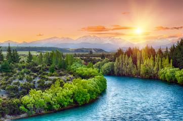 Fototapeta Clutha river