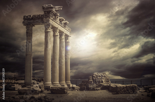 Cuadros en Lienzo Apollon Temple @Antalya