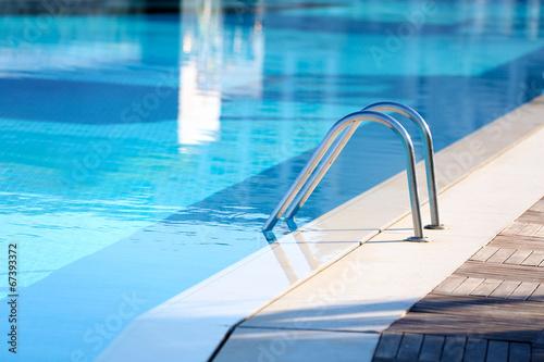 Stampa su Tela Hotel swimming pool