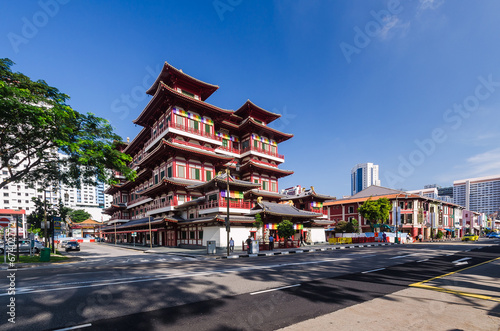 The Buddha's Relic Tooth Temple in Singapore